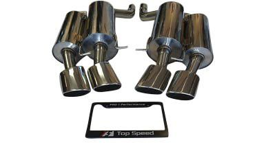 top speed pro 1 exhaust bmw e60 m5 v10