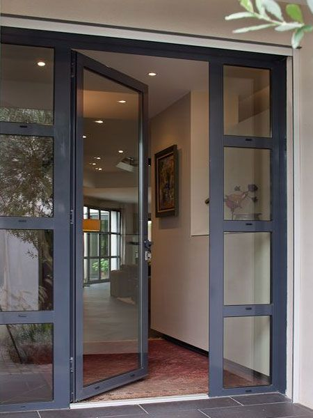 The Majority Of Doors That Can Be Used For A Home Entrance Are Manufactured Using Meranti Or A Front Door Design Contemporary Front Doors Glass Entrance Doors
