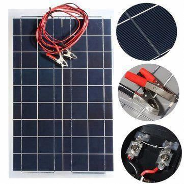 30w 12v Semi Flexible Solar Panel Device Battery Charger Solarcell Solarpanels Solarenergy Solarpower Solarg In 2020 Flexible Solar Panels Solar Panels Solar Charger