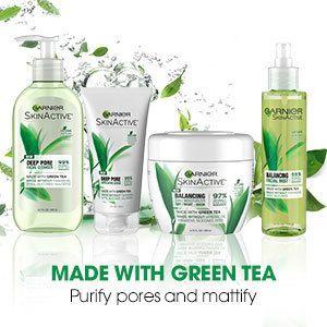 Garnier Skinactive Balancing 3 In 1 Face Moisturizer With Green Tea Ulta Beauty Face Moisturizer Sensitive Face Moisturizer Garnier Skin Active