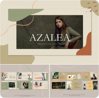 Azalea Powerpoint Template | Free download
