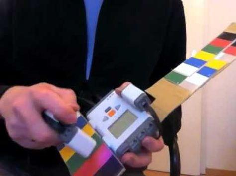 The Coltar... Lego mindstorms color sensors create music