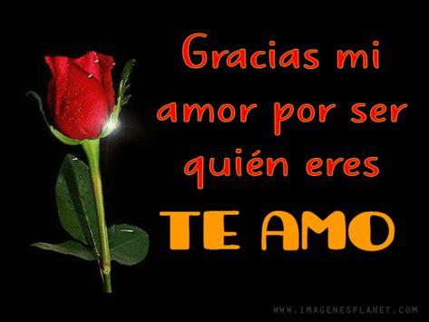 Imágenes bonitas de rosas con frases románticas de amor