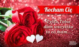 Gify I Obrazki Kocham Cie Love Rose Flowers