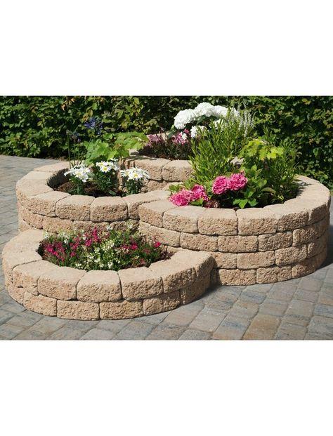 Pin Von Jasmin Brushafer Auf Garteninspiration Mauersysteme Steinmauer Garten Garten