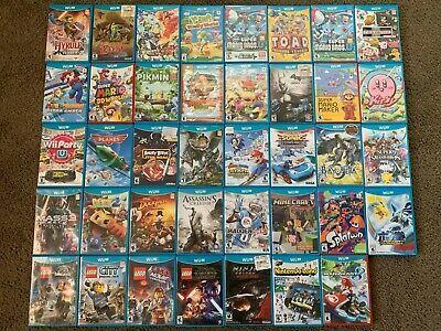 HUGE Bundle of 39 Nintendo Wii U Games: Mario+Zelda+Smash+Kirby+DK+More lot #nintendoswitch #nintendo #switch