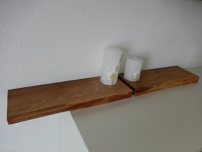 2xwandboard Eiche Wild Massiv Holz Board Regal Steckboard Regalbrett Baumkante Ebay In 2020 Regal Regalbretter Holz