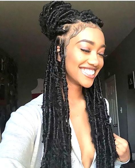 Braided Topknot Hairstyles for Black Women