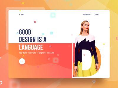 Experiment 1 Web Design Web Design Inspiration Experiments