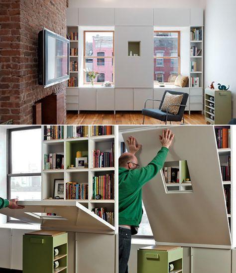 Enge Und Kleine Raume Einrichten Mit Modernem Klapptisch Kleine