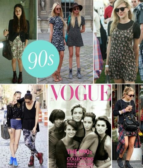 I love all of these outfits. The Olsen chic is 90s inspired not actually a pic from the 90s. She was only a tyke in the actual 90s!