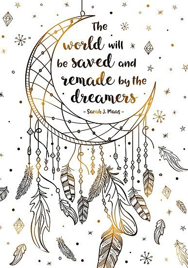 The World Will Be Saved Poster by Stella Bookish Art