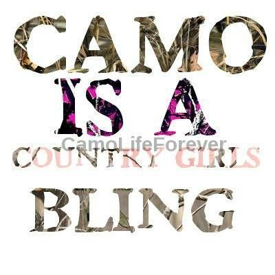 camo is a country girls bling | Good night America | Country girl