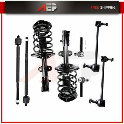 8pcs Front Struts Lower Control Arm Tie Rod For Chrysler Pacifica 2004 2008 Ebay In 2020 Chrysler Pacifica The Struts Control Arm