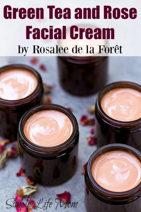 Anti-Aging Remedies This green tea and rose facial cream is full of amazing ingredients like rose hydrosol, essential oils. Great night cream and anti aging eye cream. - A silky smooth facial cream with all natural ingredients
