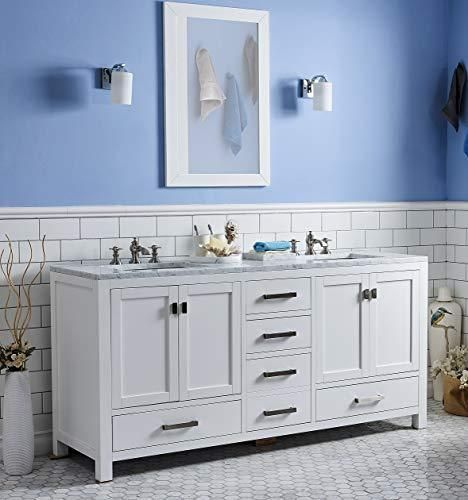 Hometure 72 Bathroom Vanity Cabinet Without Counter Top 72
