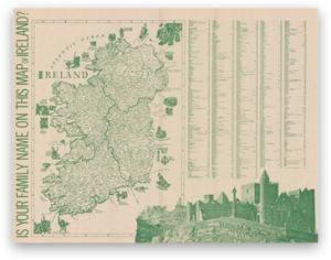 Irish Ancestry , Irish Family Map , Irish Family Names , Irish History ...