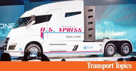 Icymi Delivering The Goods U S Xpress Offers Team Bonuses Up To 50 000 New Drivers Transport Topics Truck Driver