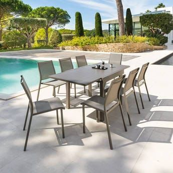 Piazza : Salon de Jardin, Table, Chaise, 2019
