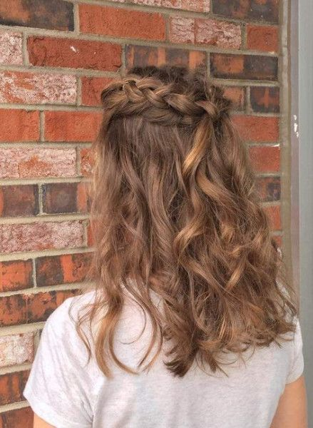 Hairstyles Ideas For Homecoming 25 Ideas For 2019 Easy Homecoming Hairstyles Homecoming Hairstyles Hair Styles