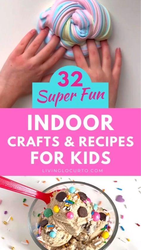 Indoor Crafts For Kids
