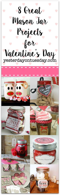 80 Mason Jars Valentine S Day Ideas Valentines Mason Jars Valentines Diy