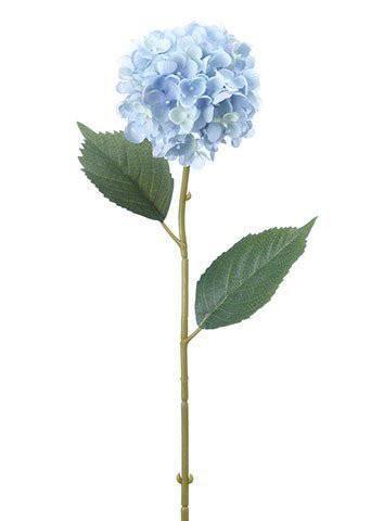 Light Blue Fake Hydrangeas Light Blue Flowers Blue Flowers Vintage Flowers
