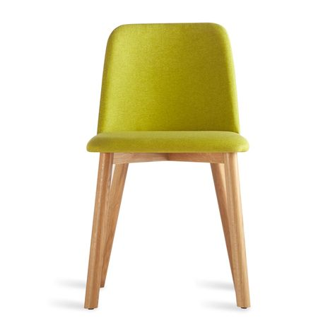 Chip Dining Chair White Oak Toohey Olive Upholstered Dining