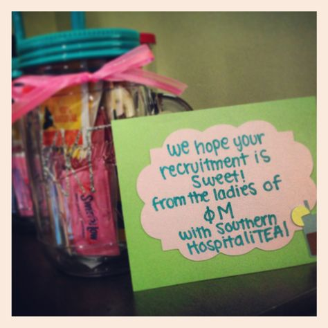 Cute gifts to give to the other Panhellenic sororities before Formal Recruitment!