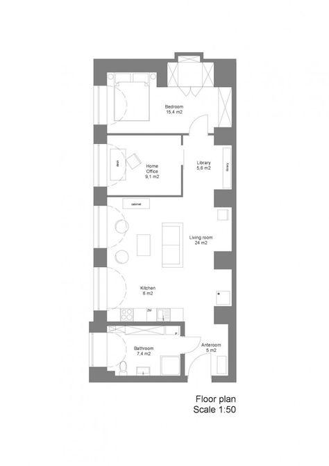 Loft In A Marmalade Factory By Loft Szczecin 12 Retro Apartment Floor Plans Loft