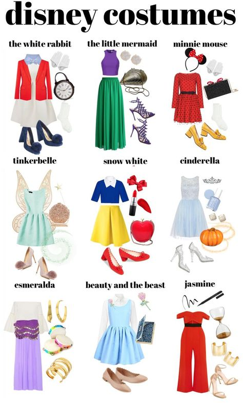Cute Easy Diy Disney Costumes - Diy Disney Easy Halloween Costumes Color Me Courtney Converse 19 On Halloween Outfits Disney Halloween Costumes Disney Costumes For Girls Of All Ages . Princess Inspired Outfits, Disney Princess Costumes, Disney Inspired Fashion, Disney Halloween Costumes, Halloween Outfits, Disney Characters Costumes, Pirate Costumes, Couple Halloween, Disney Princess Clothes