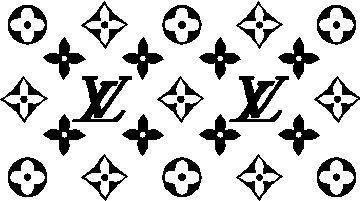 Louis Vuitton Logo Stencil Louis Vuitton Sticker Pack