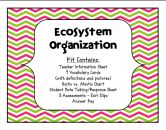 Ecosystem Organization - Levels of the Environment, Biotic vs. Abiotic, Ecology product from cokerfamily6 on TeachersNotebook.com
