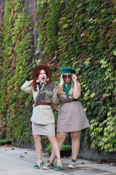 Truppe Beverly Hills Truppe Beverly Hills Halloween-Kostüm Easy DIY Bester Freund … – Neue Ideen – New Ideas – Bavece