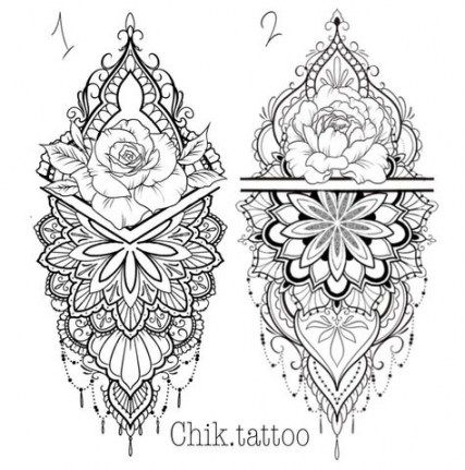 Super Tattoo Rose Mandala Style Ideas Mandala Tattoo Design Geometric Tattoo Mandala Tattoo