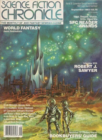 Kelly Freas, SF Chronicle #166, 93-09    SF/F magazine
