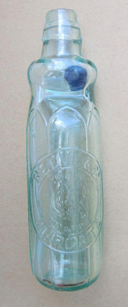 Rare Antique Blue Marble Stopper Bulb Neck Codd Bottle Reeve Co Margate 9 23cm Ebay Antique Glass Bottles Antique Bottles Antique Glass