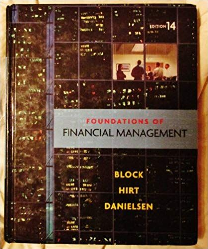 Foundations of Financial Management Pdf Download Free
