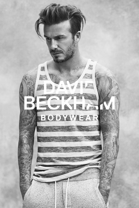 David Beckham launches a new Bodywear collection for spring. Introducing classic loungewear pieces with a sporty twist.