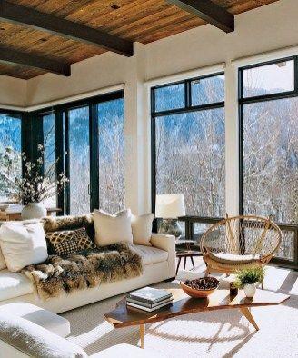 Modern Cozy Mountain Home Design Ideas Aspen House Home Interior Design House Design