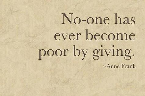 Give.