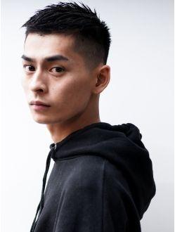 ビジネス刈り上げネープレス無造作ツーブロックイメチェン Asian Men Short Hairstyle Asian Hair Fade Asian Short Hair