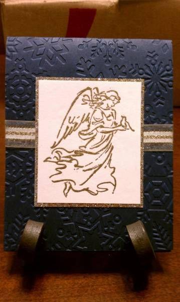 Angel Christmas Card 3