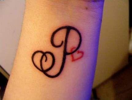 20 Trendy Ideas For Tattoo Tiny Letter Initials Tattoo Name Fonts Heart Tattoo Wrist P Tattoo