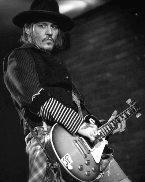 Johnny Depp at Lucky Strike Live Hollywood 2018