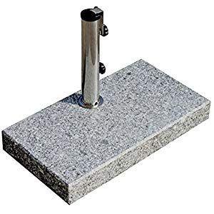 Prokira Sonnenschirmstander 25 Kg Schirme Bis O300cm Granit