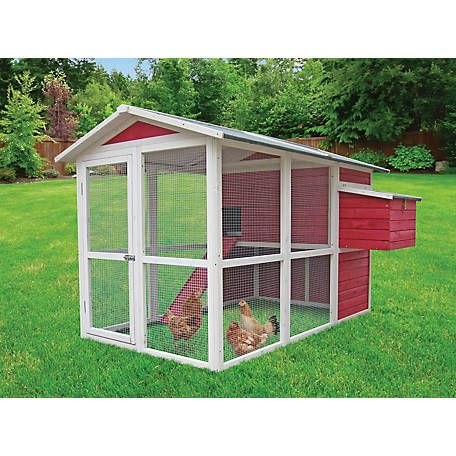 Innovation Pet Vintage Red Hen House Chicken Coop At Tractor Supply Co Building A Chicken Coop Chicken Coop Portable Chicken Coop