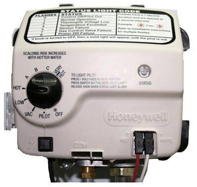 Gas Control Water Heater Thermostat Reliance State Ind Natural