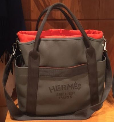 best sneakers 060a0 7a45b HERMES トートバッグ レア☆HERMES(エルメス)-Grooming bag ...
