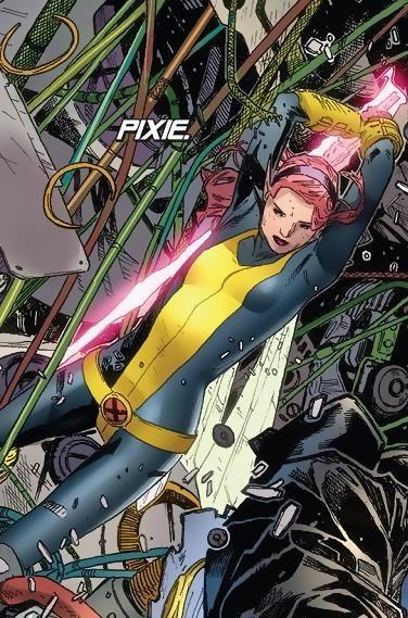 Pixie From Comic X Men Vol 4 X Men Superhero Comic Comic Art
